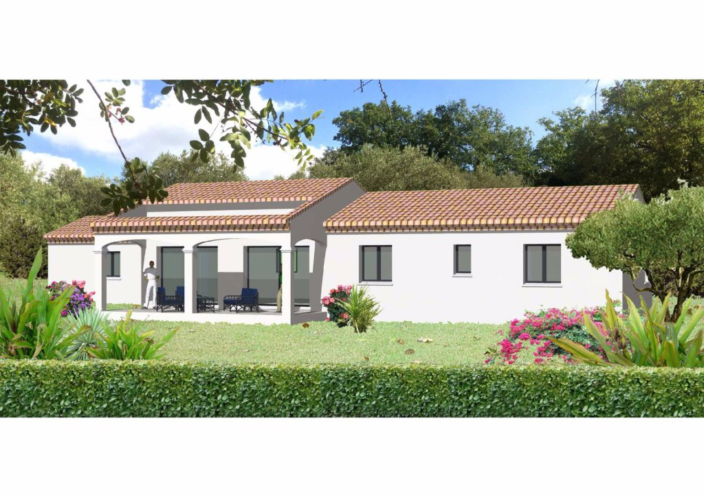 Vente maison neuve t4 de 100m plain pied avec garage for Location garage sollies pont